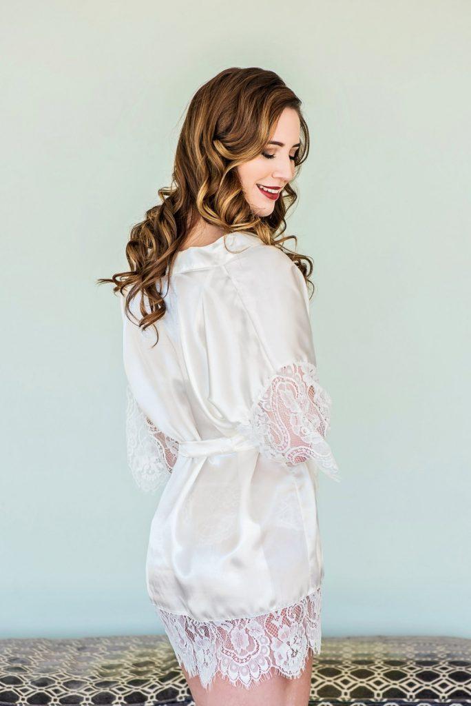 Erika bridal robe
