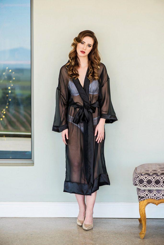 Jasmine bridal robe