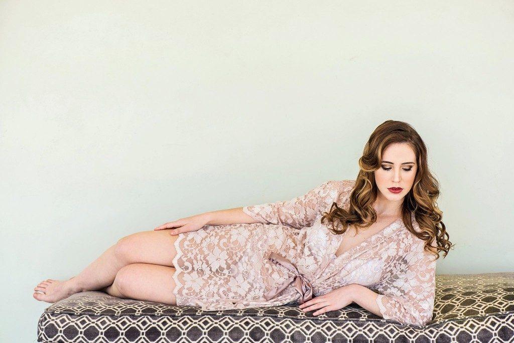 Lily-Rose bridal robe